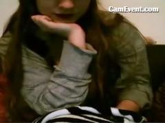 Webcam girls get naked on camevent