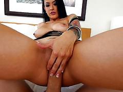 Creamy facial and pov cock relief from katrina jade