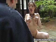 Asian slut loves to be punished