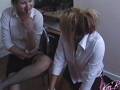 College girl lesbians play truth or dare and get naked