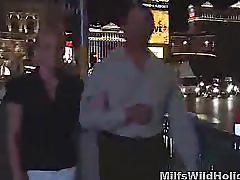 Milf babe heidi picks up a stranger on holiday