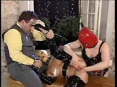 Excess in gold pt3. latex fisting and fucking.