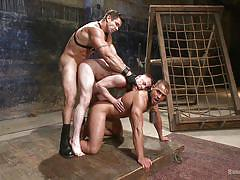 Two slaves gets humiliated