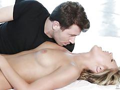 blonde, babe, kissing, fingering, natural tits, moaning, outdoors, pussy eating, swimming area, erotica x, scarlet red, james deen