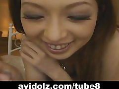 Japanese babes pov blow job uncensored