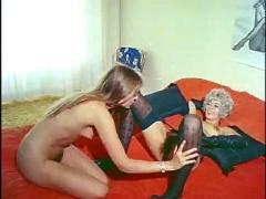 Wendy's naughty night lesbian scene
