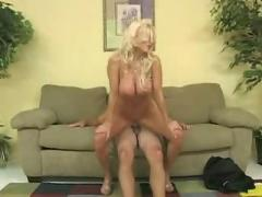 Blonde,  milf,  blowjob,  shaved,