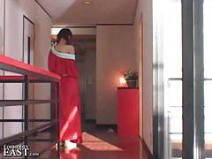 Cute japanese submissive woman tied up and sexually tormented by master
