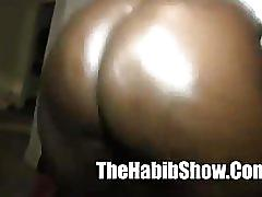 ebony, strip, blowjob, thehabibshow.com, shaking ass, twerking, big ass, homemade, natural tits, fingering, shaved pussy, pov
