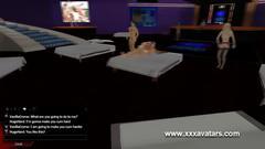 Sex club interactive sex show