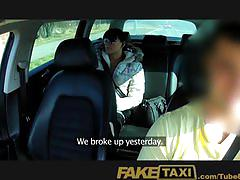 Faketaxi jaded girlfriend fucks taxi man in boyfriend revenge