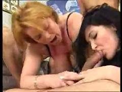 facials, group sex, old + young