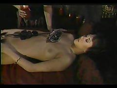 fetish, asian, tube8.com, wax, candle, babe, kink, brunette, perky, bound
