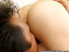 asian, asiansexthrills.com, natural tits, vibrator, fingering, japanese, hairy pussy, 69, cock sucking