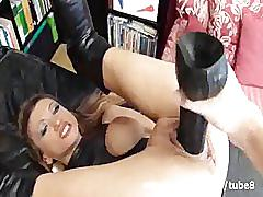 fetish, sicflics.com, milf, babe, busty, extreme, fisting, blonde, shaved, fist fuck, dildo, jerking off, facial, big tits