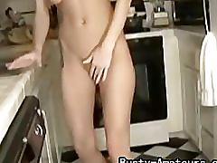 Busty amateur sammy with her sticky fingers