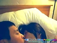 Asian girl homemade sextape