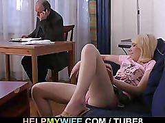 His young wife is craving for hard cock