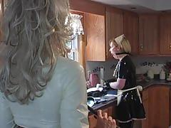 fetish, tube8.com, latex, kink, uniform, tease, shock, bound, vibrator, maid