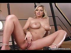 carol goldnerova, big tits, busty, shaved, masturbation, toys, dildo, vibrator, amateur, blondes