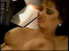 brunette, wife, desk, cocksucking, pussyfucking, office