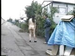 asian, public, japanese, pussy licking, public exhibitionist, public flashing, nudist, stranger public