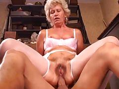 mature, blowjob, anal, tube8.com, old on young, granny, hairy pussy, anal fingering, facial, doggy style