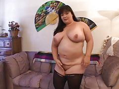 fetish, blowjob, tube8.com, bbw, big ass, big tits, masturbation, clit rubbing, brunette, doggy style