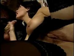 Italian cute and sexy housewife fucking