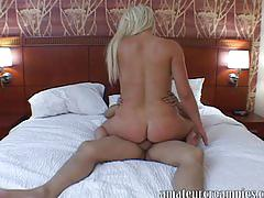 Zoey paige gets a deep creampie on amateur creampies