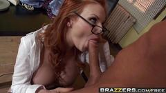 Brazzers - big tits at work - dont call in sick just fuck the boss scene starring tarra white
