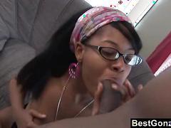 Moniquesymone teen ebony glasses licking blowjob busty hardcore bigdick couch do