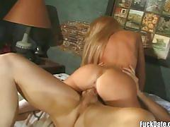 Tiny blonde gets fucked hard in this awesome retro anal fuck