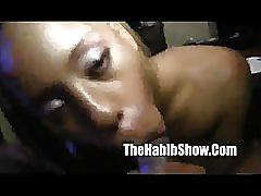 ebony, amateur, thehabibshow.com, ghetto, pov, homegrown, homemade, dominican, busty, sucking cock, fingering