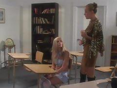 Cheerleaders spanked - scene 1