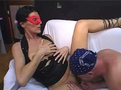 Horny mature lady cuckolds his hubby 1