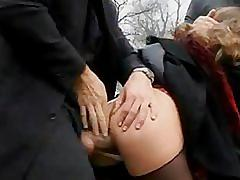 Oksana d'harcourt schoolgirl gets fucked in the woods