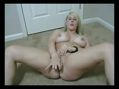Blond babe anal bates