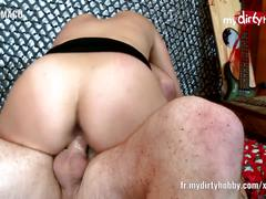My dirty hobby horny amateur fucked from behind