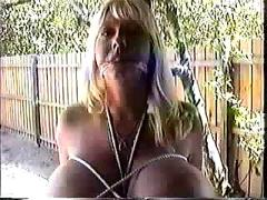 Maxi mounds - punishing a naughty busty whore.
