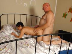 Xxxomas - mature slut petra d. riding dick and sucking cock