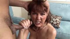 Hot mature redhead desi foxx sucks bbc