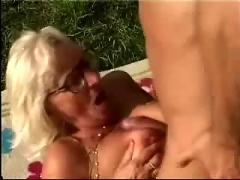 Mature mom son sex in outside