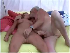 Campinng sex (mature couple)