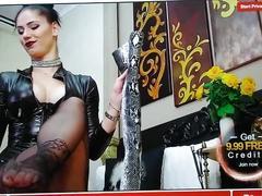 Mistress webcam nylon feet