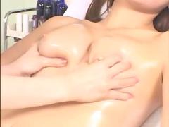 Japanese lesbian massage pt2
