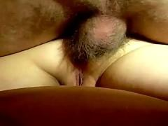 Woman grinds until she get anal