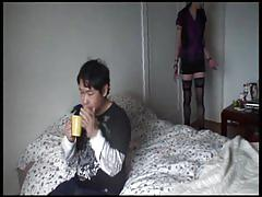 Emo sex & anal - milks the fuck out of his cock part 1.