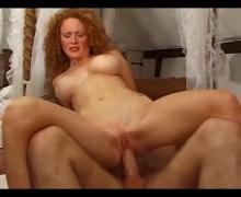 Redhead takes it in all holes