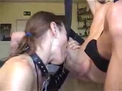 Couple having wild sex